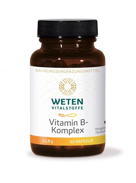 Vitamin B-Komplex - 60 Kapseln