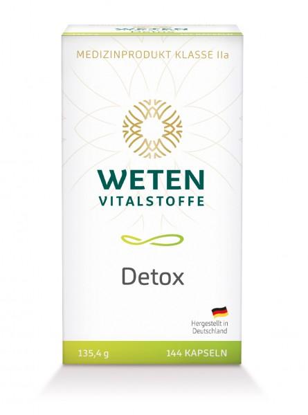 Detox Weten Medizinprodukt - Klasse lla. 144 Kapseln