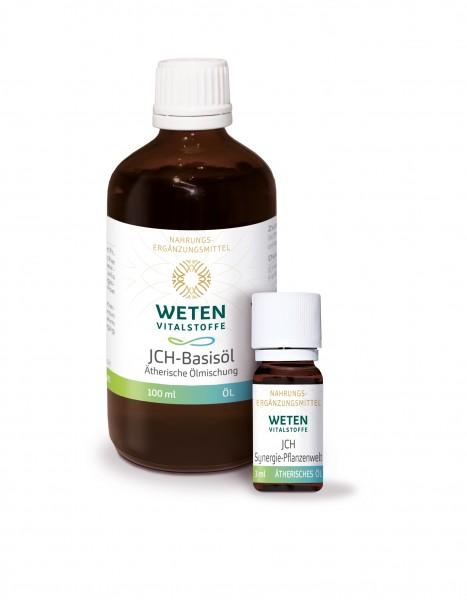 JCH-Basisöl + Synergie-Öl - 100ml Basisöl + 3ml Synergie-Öl